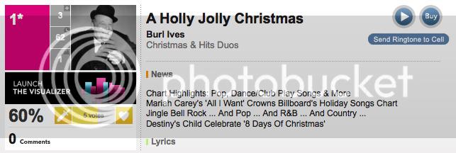 #1 Burl Ives A Holly, Jolly Christmas