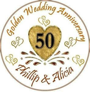Ebay Golden Wedding Cake Decorations