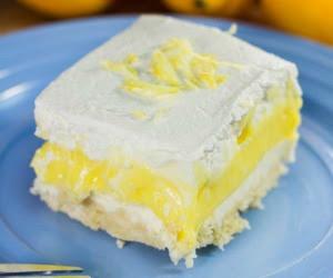 Lemon Lush Lasagna
