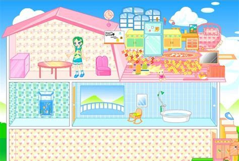 Barbie Dollhouse Decoration Game   Barbie games   Games Loon