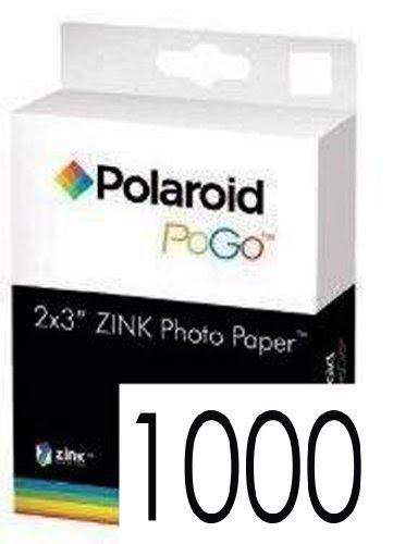 Great For Any Kind Of Embellishment Polaroid Zink Media 1000 Pack