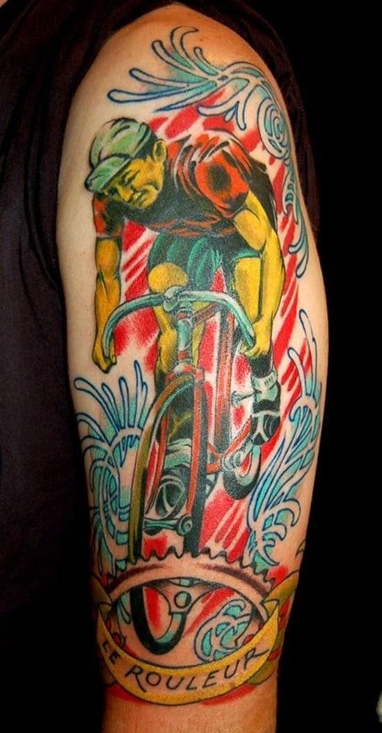 Tatuagem de bicicleta (16)