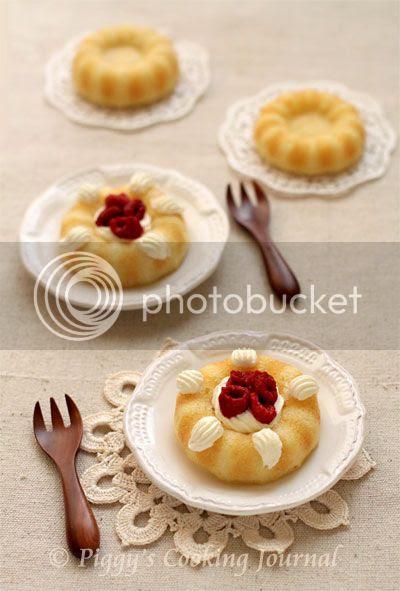 Savarin Cake Pan With Lud