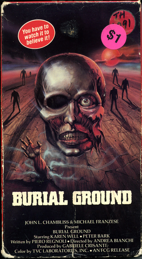 Burial Ground (VHS Box Art)