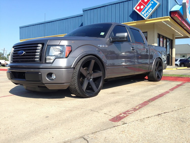 F150dubs 2011 Ford F150 Supercrew Cabfx2 Pickup 4d 5 12 Ft