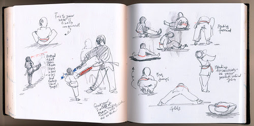 February 2012: Practice by apple-pine