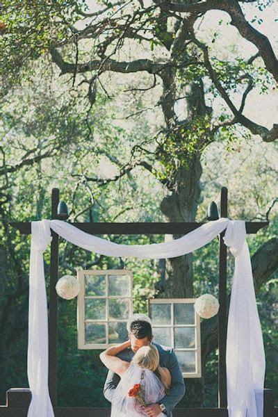 Vintage Finds: Old Windows as Wedding Decor   Wedding