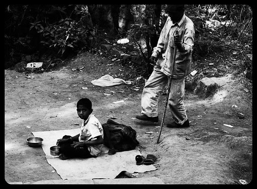 When Dad Goes To Pee I Take His Place You See by firoze shakir photographerno1