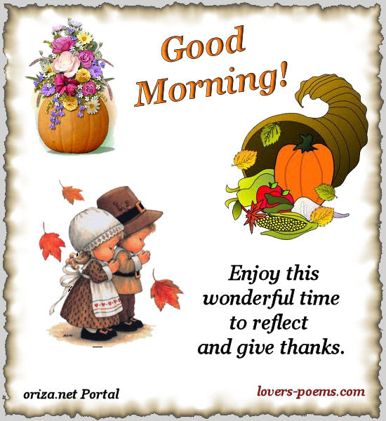 Good Morning Happy Thanksgiving Quotes Pictures And Images For Facebook