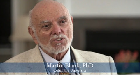 Martin Blank, PhD, Columbia University, expert in DNA effects from electromagnetic fields to address ...