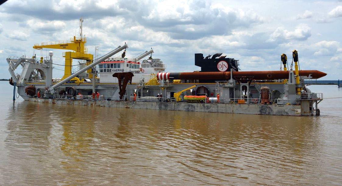 Resultado de imagen para dragado, apertura, profundización y mantenimiento del río Uruguay.