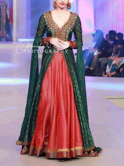 Eastern Bridals Green Lehenga and Frocks Ideas ? Designers