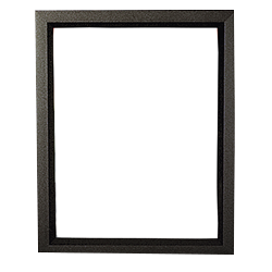Top Load Frame 85 X 11 Black Hardware Only Imagery