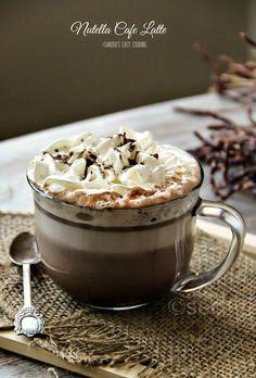 Nutella Cafe Latte @SECooking   Sandra