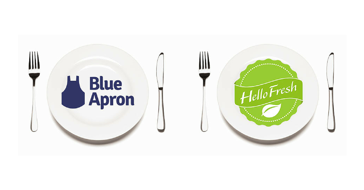 Image result for hello fresh vs blue apron