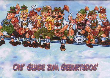 Bayerische geburtstagsglückwünsche