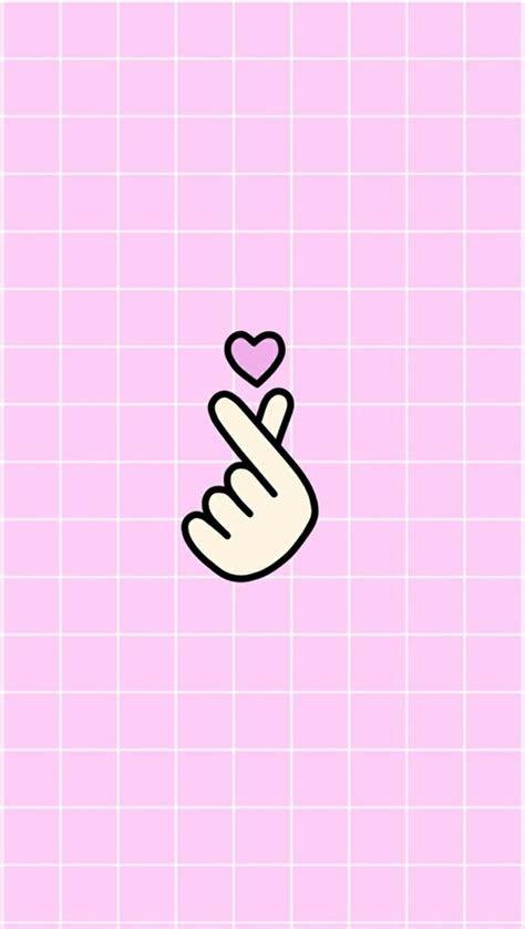 saranghae wallpaper korean cute pink iloveyou cutie