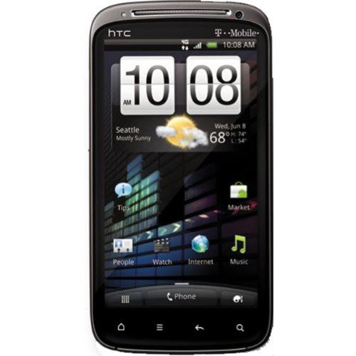 HTC Sensation Z710E Unlocked GSM Android Smartphone with 8 MP Camera, Wi-Fi and GPS - No Warranty - Black
