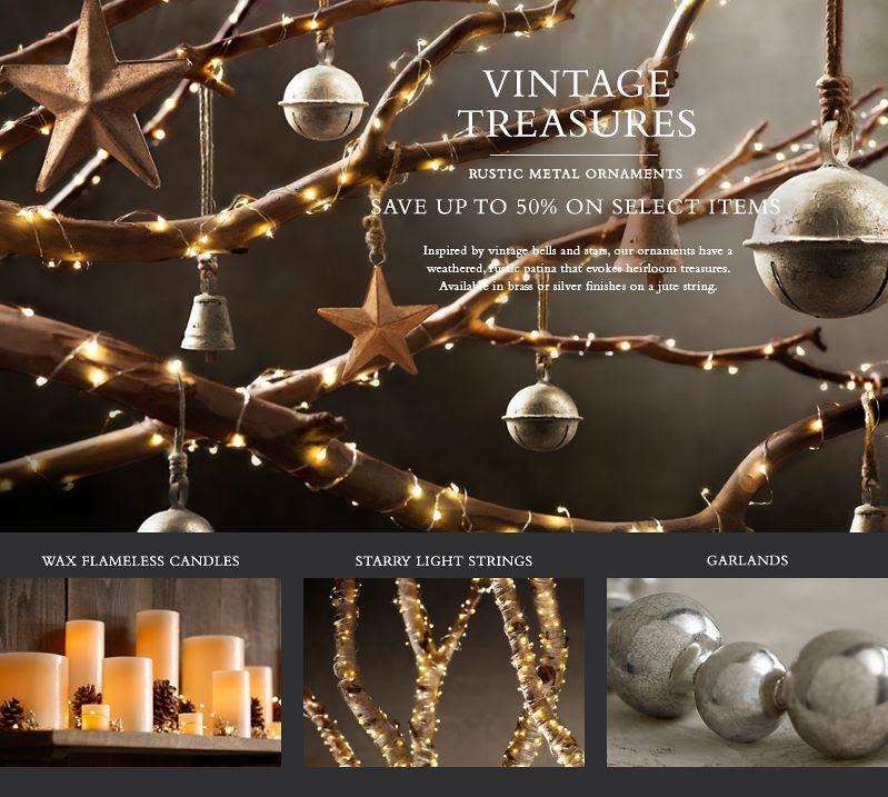 Restoration Hardware Xmas Lights: Christmas Tree Decorations Restoration Hardware