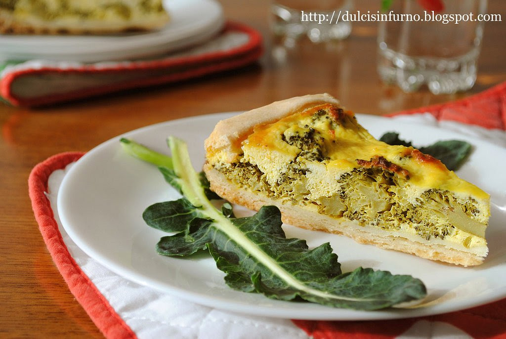 Quiche ai Broccoli-Broccoli Quiche