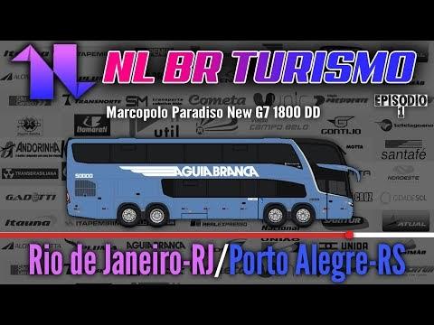 Viação Águia Branca | Rio de Janeiro-RJ | Porto Alegre-RS