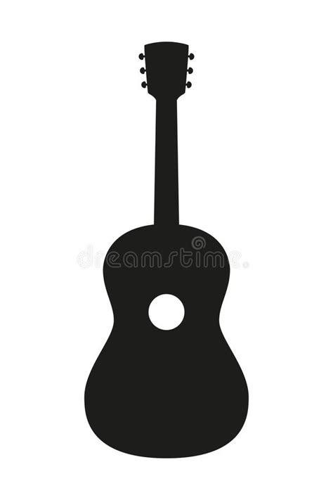 Guitar Silhouette Stock Illustrations – 10,733 Guitar