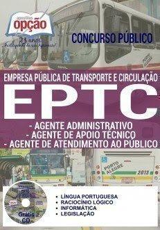 Apostila EPTC Porto alegre AGENTE ADMINISTRATIVO 2016-2017