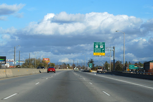 I-90 @ US 2 eastward
