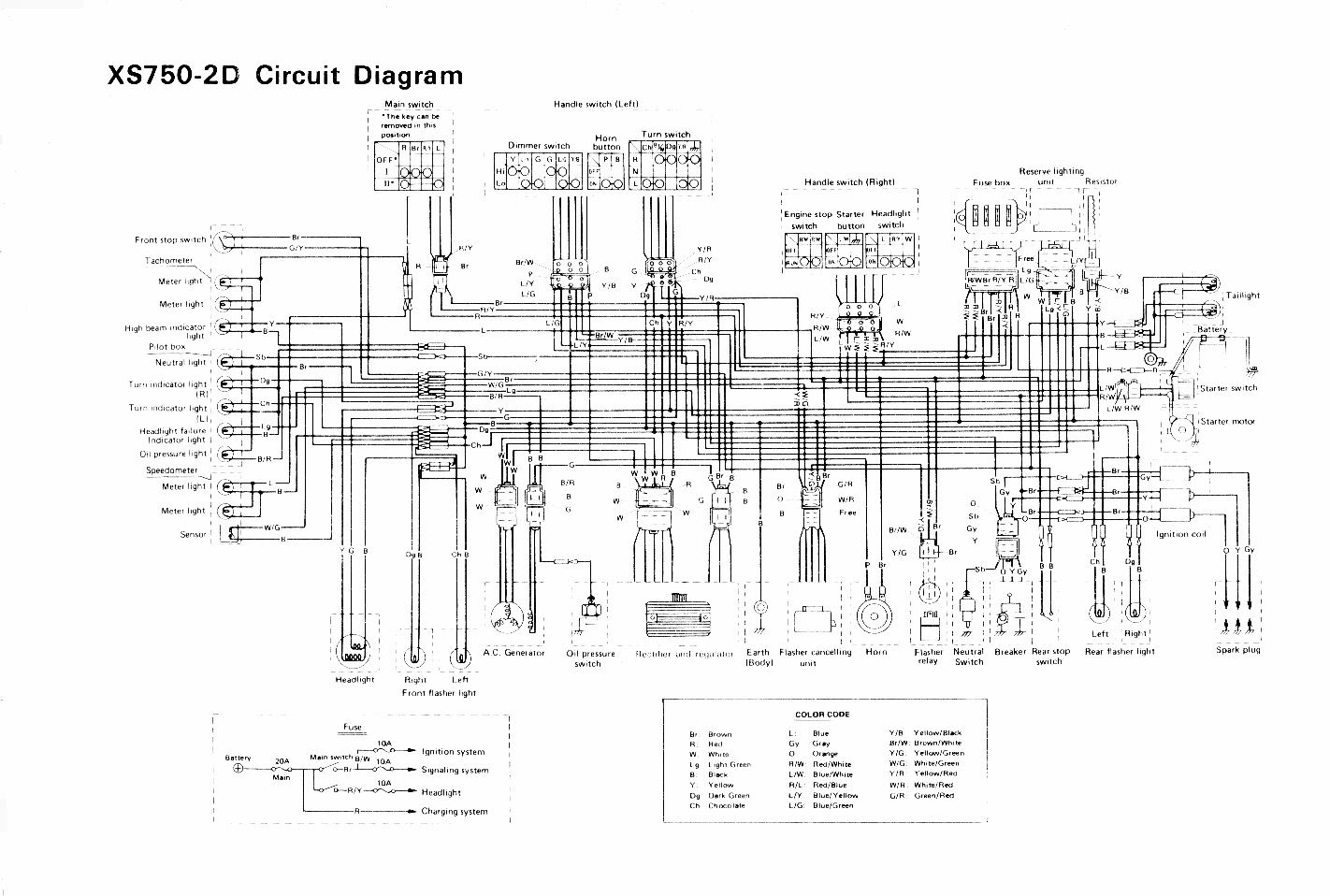 Xs750 Wiring Diagram