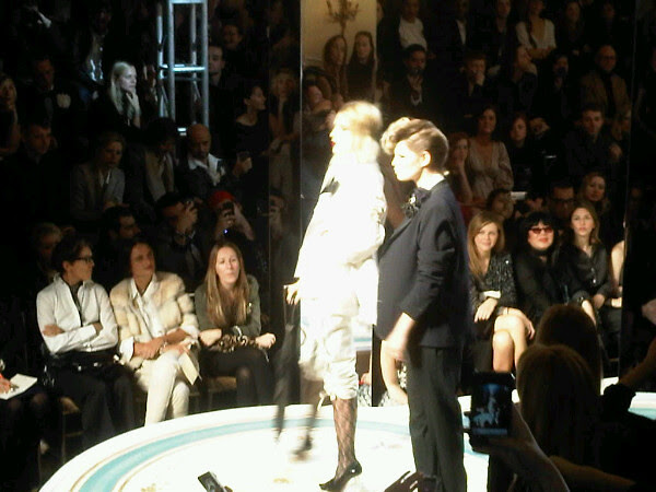Pixie Geldof an Dree Heminway just hitted the catwalk