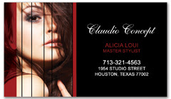 BCS-1008 - salon business card