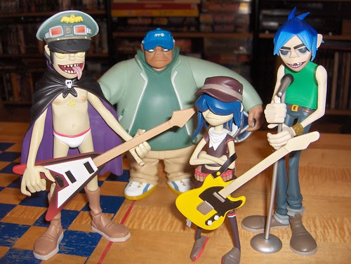Today's special guest stars: Gorillaz!