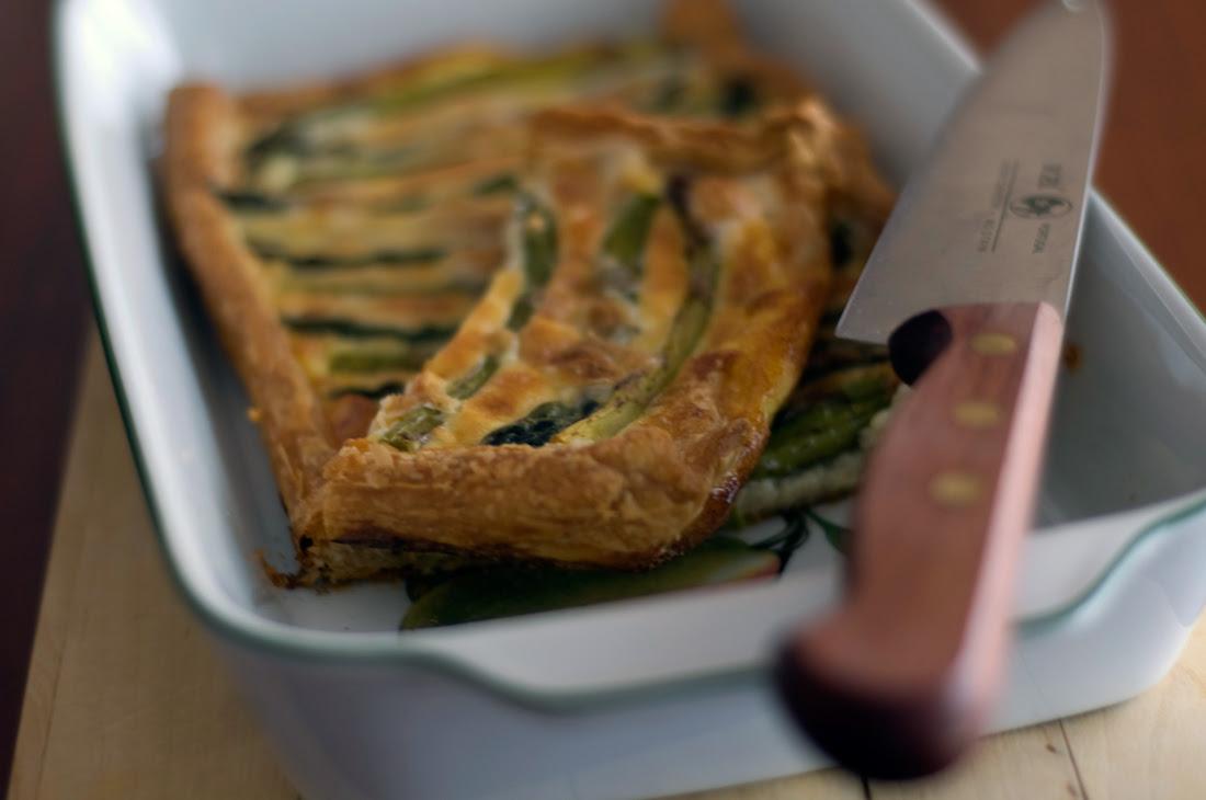 Tarte de espargos // Asparagus Tart