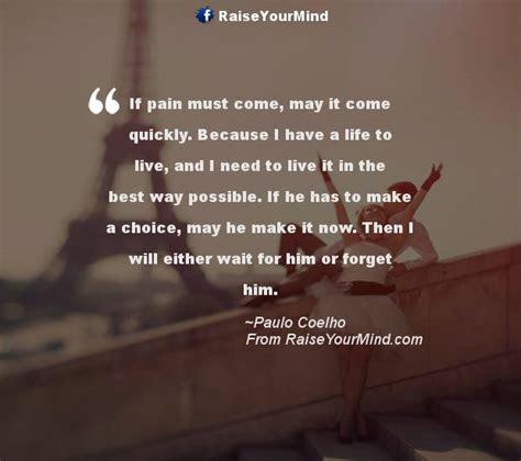 Paulo Coelho Quotes Love Pain