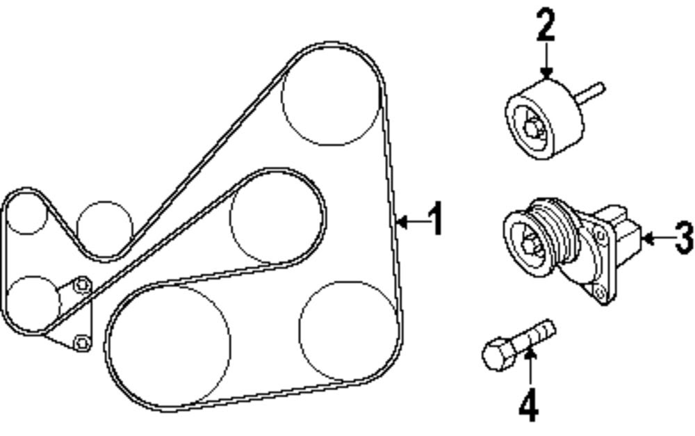 Mazda 3 Serpentine Belt Diagram