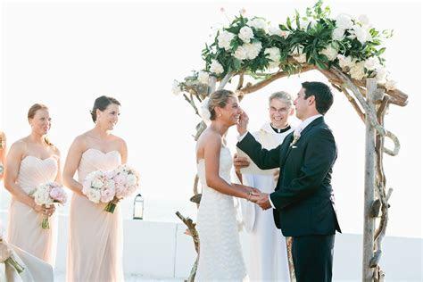 Outdoor Waterfront Wedding Ceremony   Elizabeth Anne