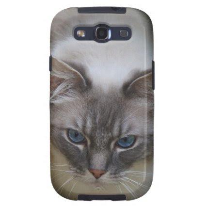 Ragdoll Cat Case for Samsung Galaxy SIII Galaxy S3 Case