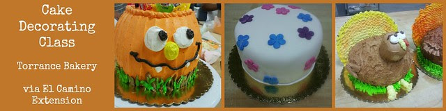 Cake Decorating Class - Torrance Bakery - El Camino College Extension