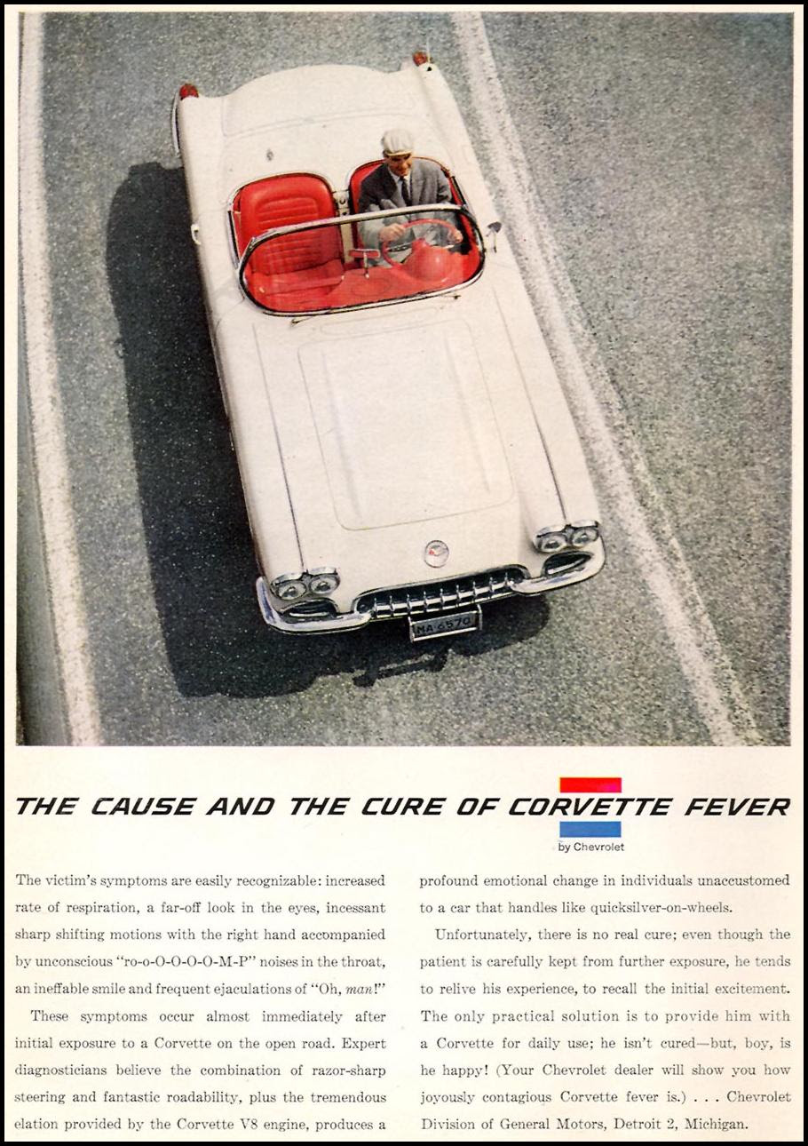 CHEVROLET AUTOMOBILES SPORTS ILLUSTRATED 05/11/1959 p. 46