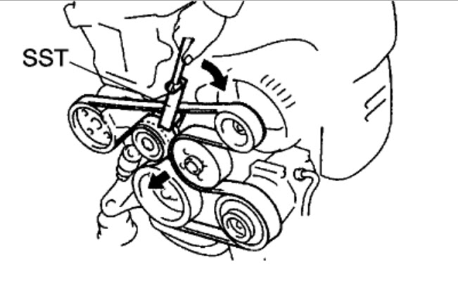 29 2002 Toyota Camry Serpentine Belt Diagram