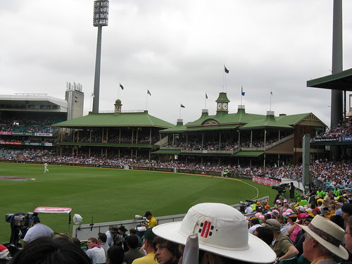 the members' stands