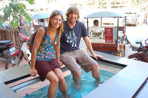 Fish Massage! Siem Reap
