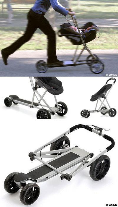 Roller Buggy : Kereta Bayi Sekaligus Oopet !
