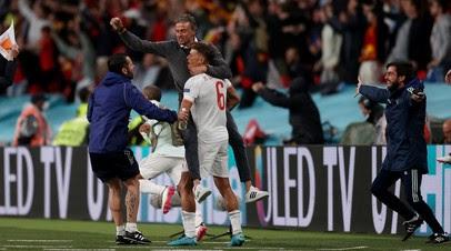 Мората сравнял счёт в матче Италия — Испания