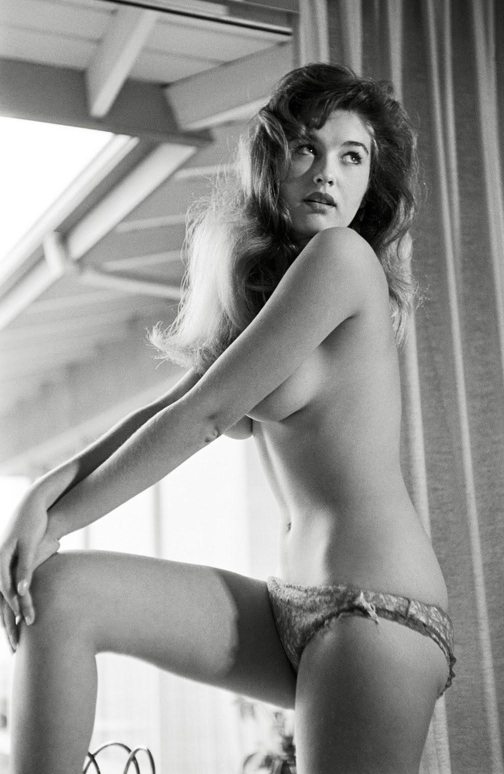 classicnudes:  Connie Cooper PMOM - January 1961 More Connie