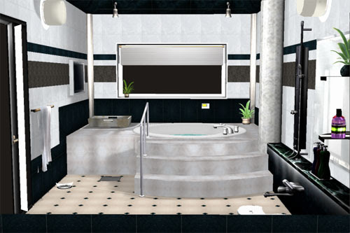 MMD Modern Bathroom