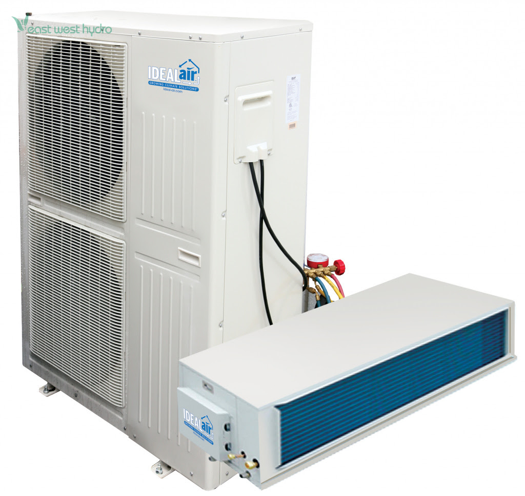 ideal air mega split ceiling mount heat pumps heating and cooling