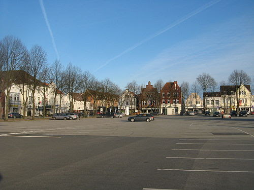 Heide marktplatz deep