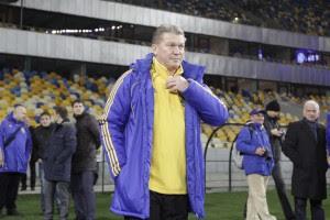 Блохин отметил, что ожидания болельщиков давят на сборную