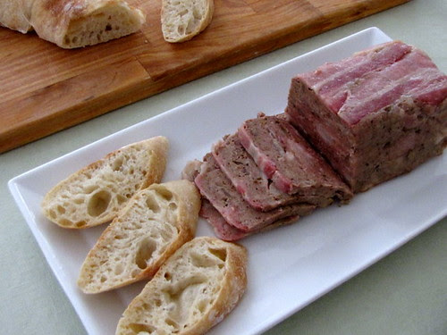 Pate and Rustic Bread